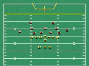 youth football 43 defense