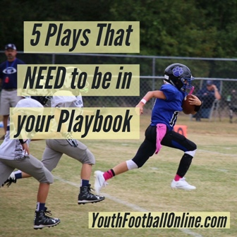 5 Must-have Plays for Every Youth Football Offensive Playbook