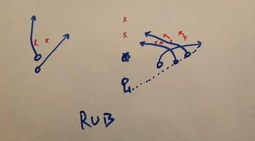 rub route play
